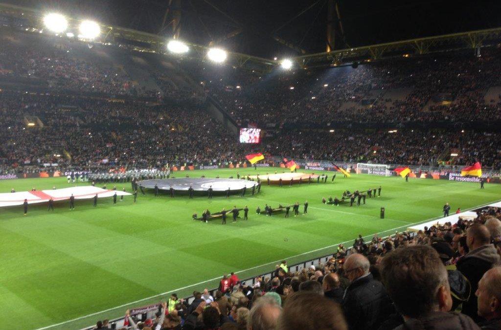 Fußballschule zum Länderspiel in Dortmund