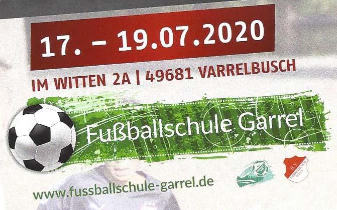 Fußballcamp in Varrelbusch